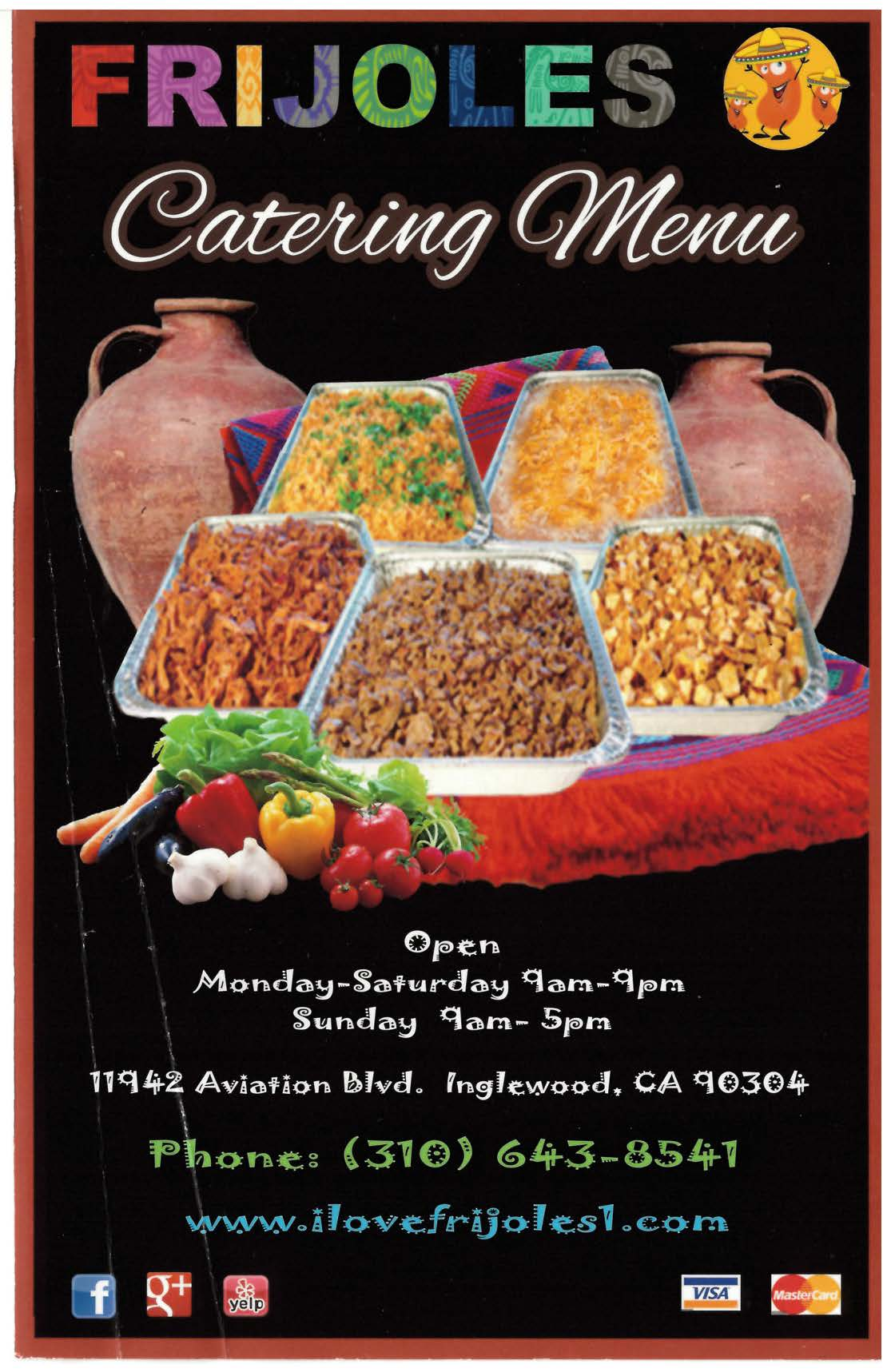 Catering frijoles restaurant dont stress out about your next partys menu bring in authentic mexican food or call us and tell us what you need for your fiesta forumfinder Choice Image